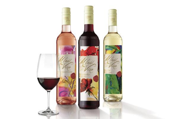 Tri víťazné študentské návrhy, ktoré sa dostali na etikety vín známej slovenskej značky.