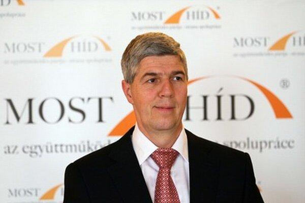 Šéf Mosta Béla Bugár.