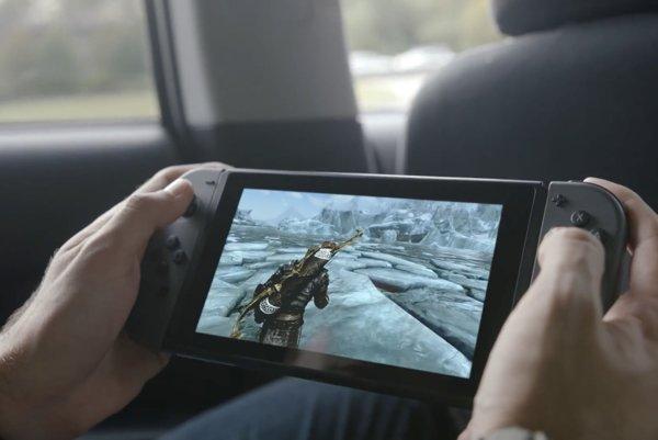 Hybridná novinka Nintendo Switch.
