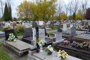 Cintorín na Sklabinskej ulici v Martine.