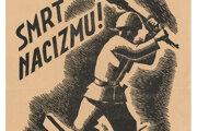 Štefan Bednár: Smrť nacizmu! 1944. Leták. Slovenský národný archív, Bratislava