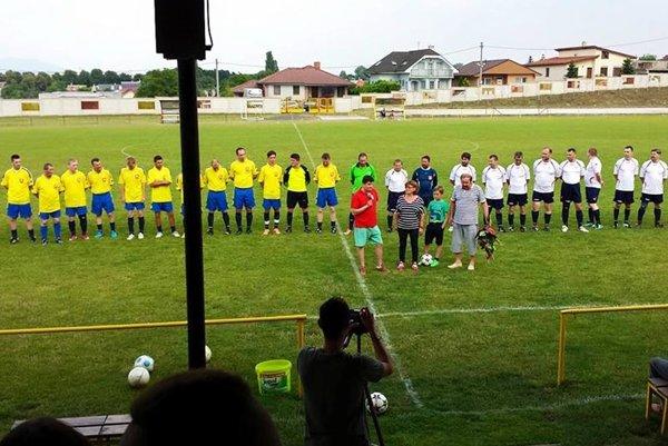 Ilustračná snímka z futbalového štadióna v Rišňovciach.