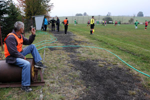Symbolom dedinského futbalu je aj prostredie.