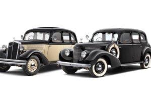 Škoda Superb 640 (1935) a Škoda Superb 3000 OHV (1939)