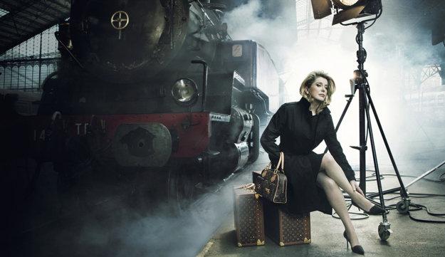 V reklame z roku 2007 pre značku Louis Vuitton