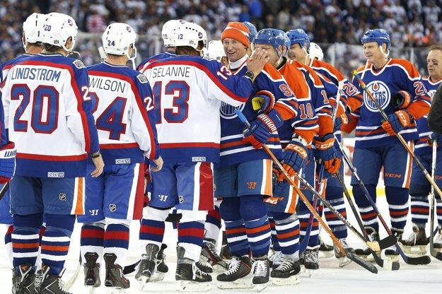 Stretnutie legiend skončilo víťazne pre Winnipeg.