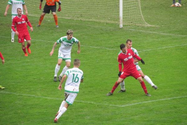 Favorit sa presadil. VSS Košice zvíťazili vLipanoch dvojgólovým rozdielom.