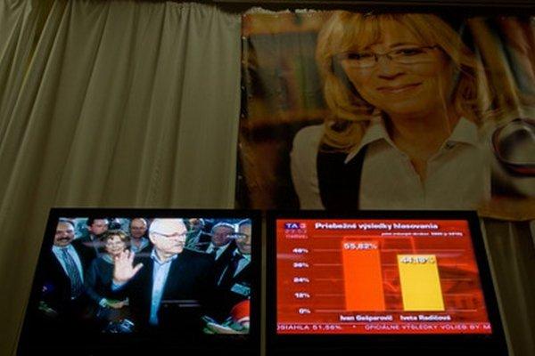 Radičová voľby s Gašparovičom v roku 2009 prehrala.