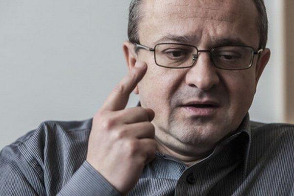 Riaditeľ Slovenskej spoločnosti pre zahraničnú politiku Alexander Duleba.