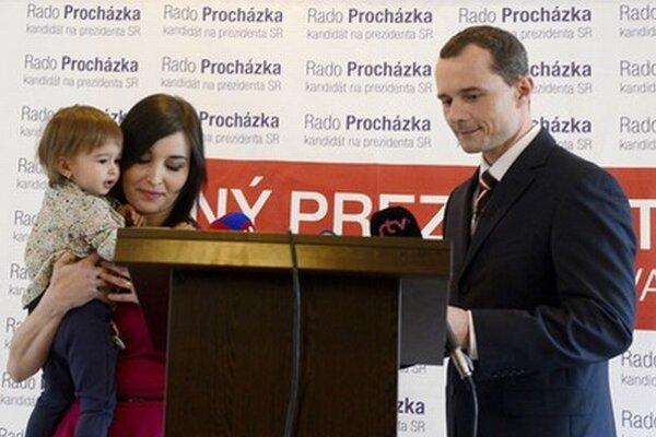 Svoje priority vysvetlila aj Procházkova manželka Katarína.