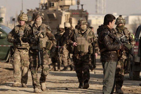 Vojaci v Afganistane.