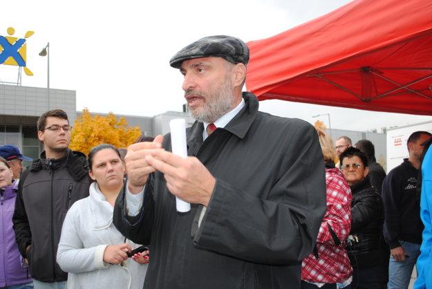 Viceprimátor Štefan Kužma vysvetľoval filozofiu mesta.