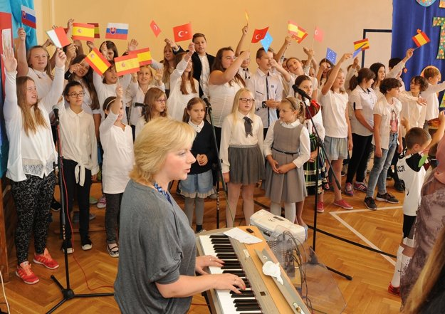 V Poľsku sa stretli školáci z viacerých krajín.