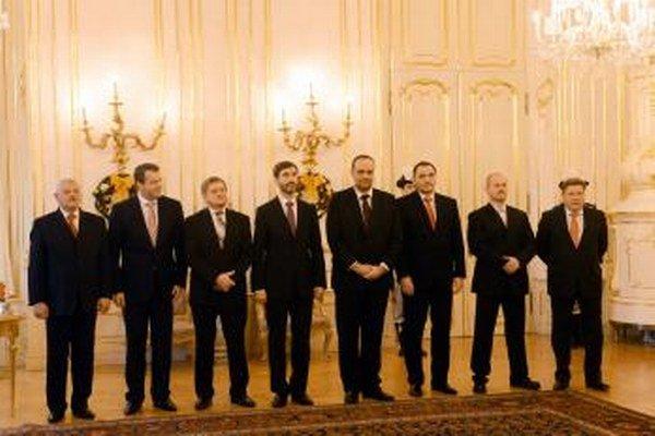 Novoročné stretnutie prezidenta Ivana Gašparoviča s predstaviteľmi vyšších územných celkov.