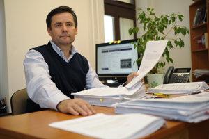 Predseda občianskoprávneho kolégia Krajského súdu v Prešove Peter Straka.