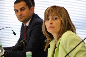 Primátorka Andrea Turčanová odmieta argumenty ľavice.