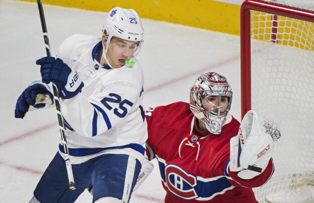 Veľkou oporou Montrealu aj v zápase proti Torontu bol brankár Carey Price.