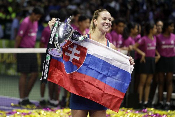 Dominika Cibulková vlani vyhrala koncoročný šampionát WTA.