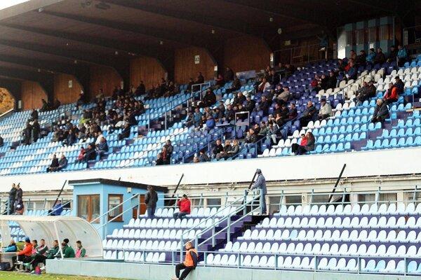 Diváci v zápase Nitry s Pohroním gól nevideli.