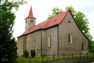 Kostol Nanebovztaia Panny Márie v Župčanoch.