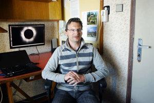 Pavol Schwartz, vedúci observatória Astronomického ústavu Slovenskej akadémie vied.