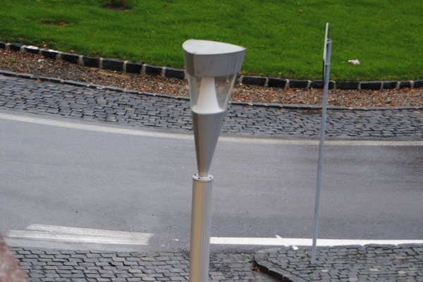 Mesto čaká modernizácia verejného osvetlenia. Iluminovať sa bude v historickom centre. (Zdroj: Mario Hudák).