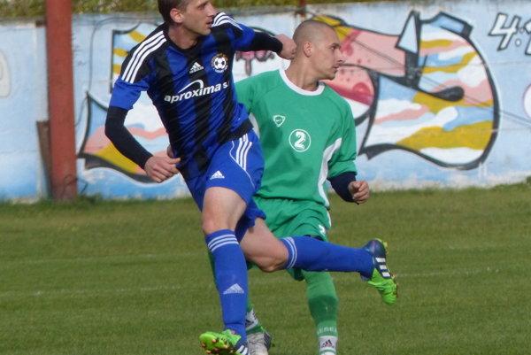 Zo zápasu Moravský Sv. Ján - Mokrý Háj.