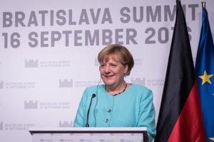 Angela Merkel, nemecká kancelárka