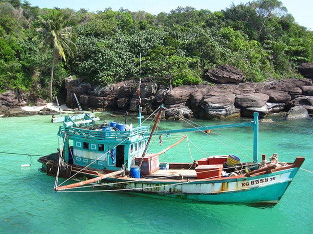 Rybolov je hlavným zdrojom živobitia na ostrove Phu Quoc.