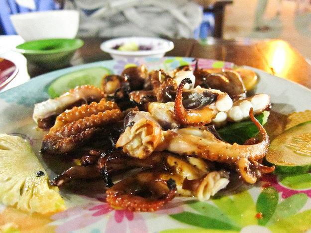 Jedlá z morských plodov sú pýchou ostrova Phu Quoc.