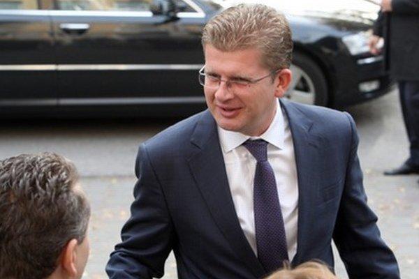 Minister životného prostredia Peter Žiga.