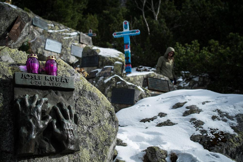 Symbolický cintorín vo Vysokých Tatrách.