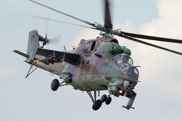 Slovenský Mi-24V.