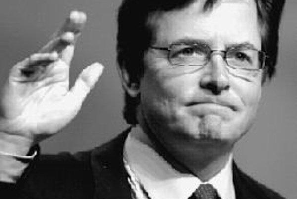 Americký herec Michael J. Fox trpí Parkinsonovou chorobu už niekoľko rokov.