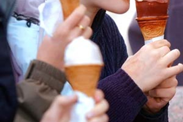 Aj zmrzlina môže byť zdrojom salmonely.