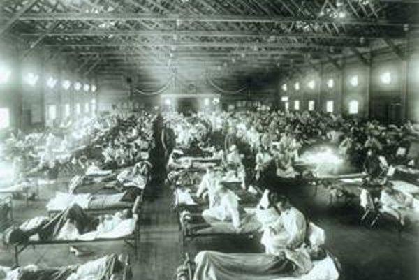 Pandémia španielskej chrípky zasiahla mladíkov.