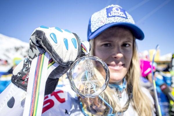 Veronika Velez-Zuzulová bola vlani druhou najlepšou slalomárkou vo Svetovom pohári.