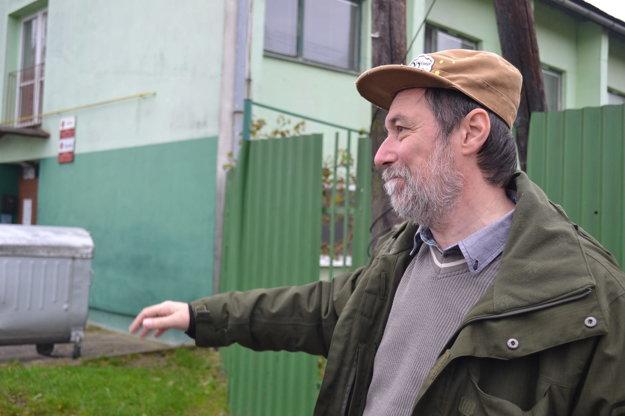 Rudolf Bača. Má s ľuďmi bez domova bohaté skúsenosti.