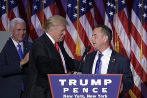 Donald Trump si za vedúceho kancelárie Bieleho domu zvolil doterajšieho predsedu Republikánskej strany Reincea Priebusa.