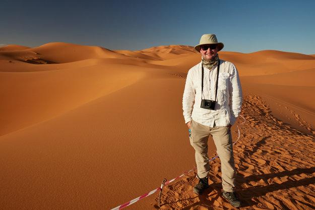Róbert Viglasky v Maroku s National Geographic Channel.