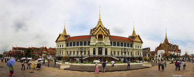 Grand Palace, Bangkok, Thajsko.
