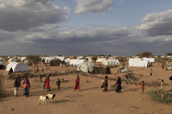 Tábor v kenskom Dadaabe.