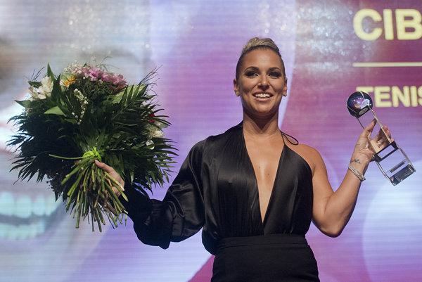Dominika Cibulková suverénne ovládla prestížnu anketu.