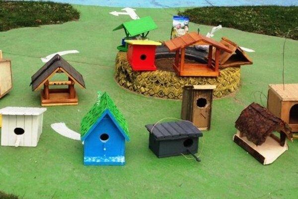 Vtáky v Myjave majú nové kŕmidlá a búdky.