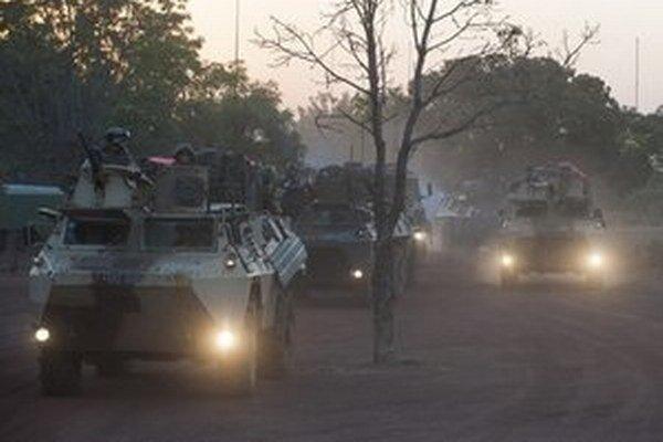 Francúzske jednotky v Mali.