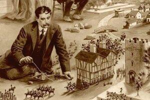 H.G. Wells, autor Vojny svetov či Stroja času.