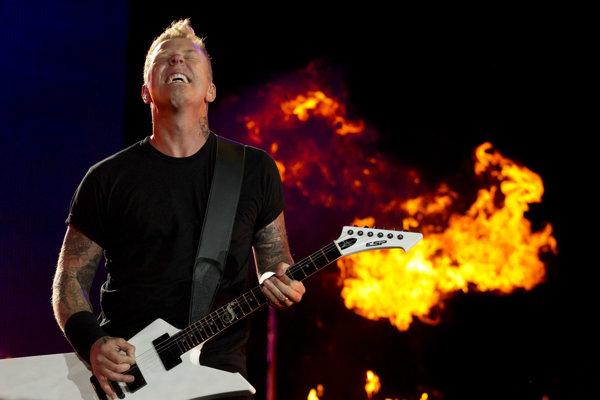 James Hetfield z Metallicy.