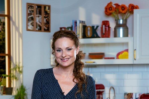 Talentovaná herečka, šikovná kuchárka. Markéte to výborne ide pred kamerou, aj v kuchyni.