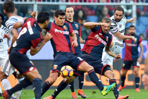 Juventus prekvapujúco zaváhal.