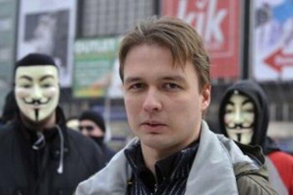 Aktivista Slovenskej pirátskej strany Peter Blaščák.